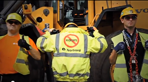 Norbord Europe raps about safety