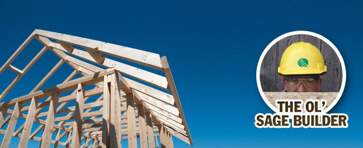 Can you install roof sheathing over real wood?