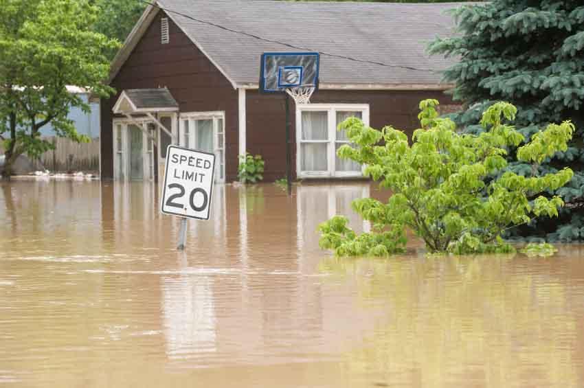 Raised Wood Flooring Systems Reduce Flood Damage
