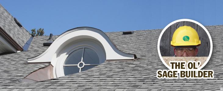 Seal Eyebrow Roof to Improve Energy Efficiency