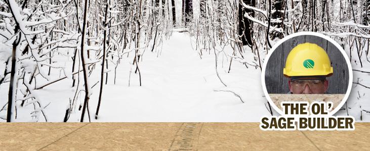 Snow on your Truflor