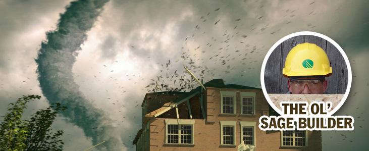 Retrofitting Hurricane Straps