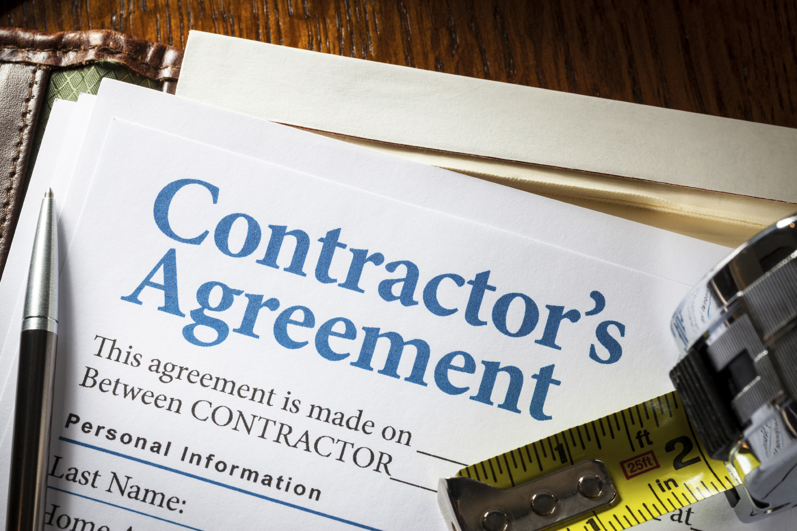 Construction Contracts: Get it in Writing!