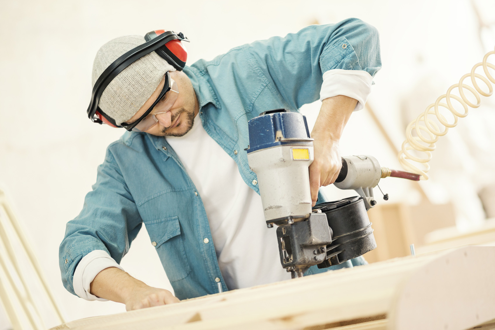 How to Prevent Nail Gun Injuries
