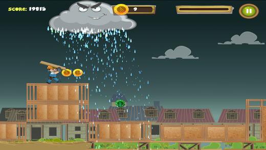 West Fraser Builder Dash Game Bad Weather Screen