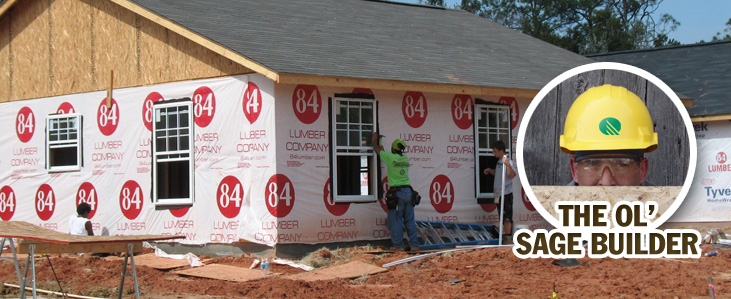 Install your house wrap correctly!