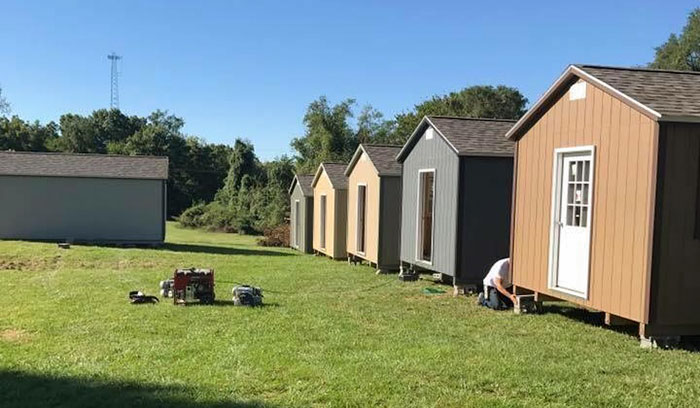 Village of Tiny Houses Gives Vets a Place to call Home