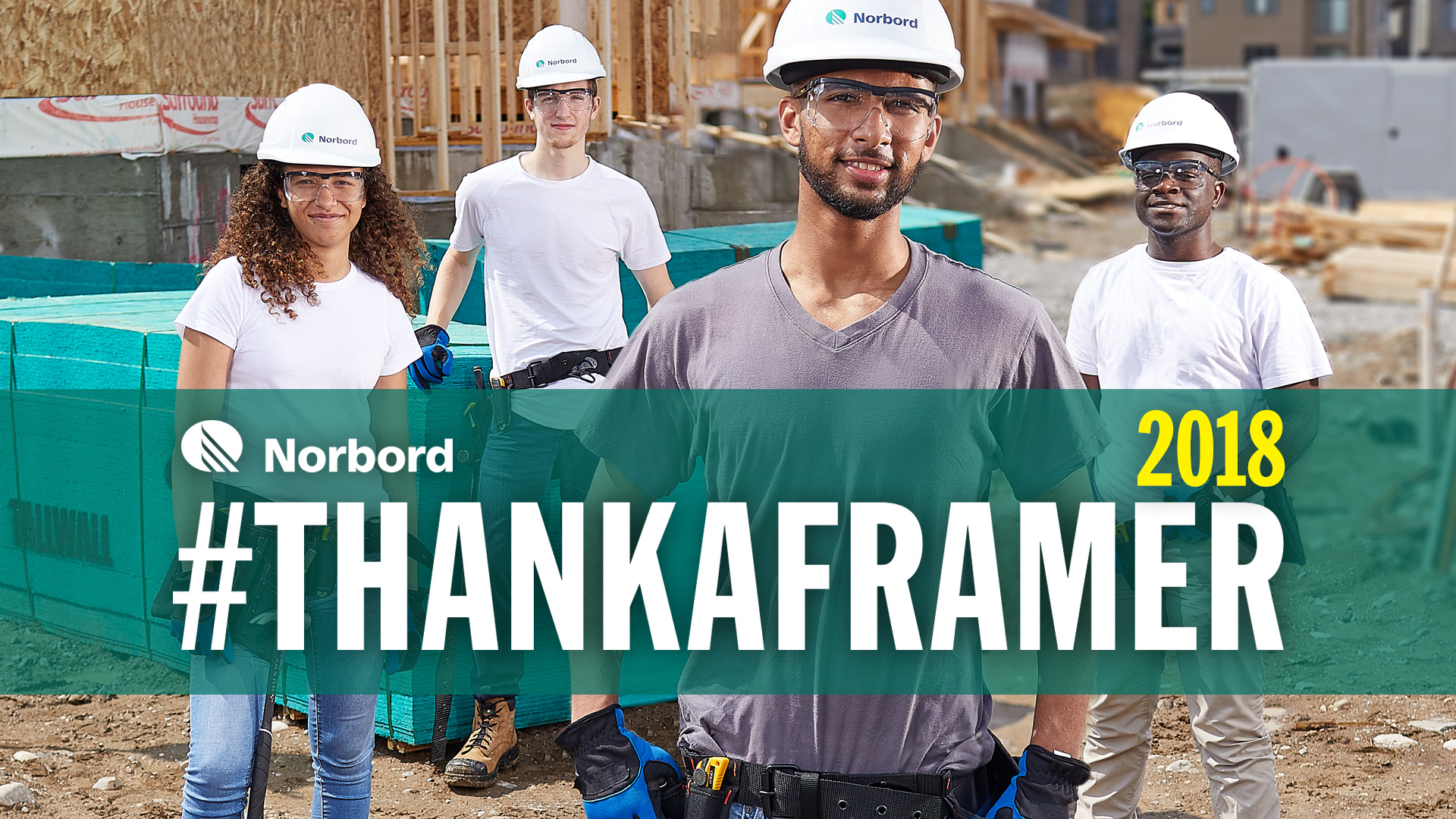 """Norbord's """"THANK A FRAMER"""" Month Helps Alleviate the Labor Shortage"""