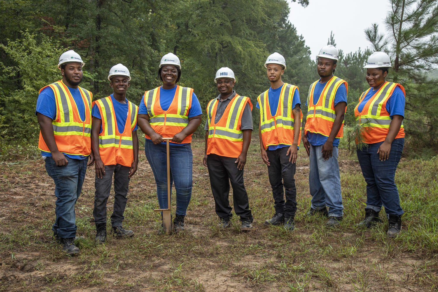 Norbord-sponsored Framing Students Ready to Take on the Jobsite