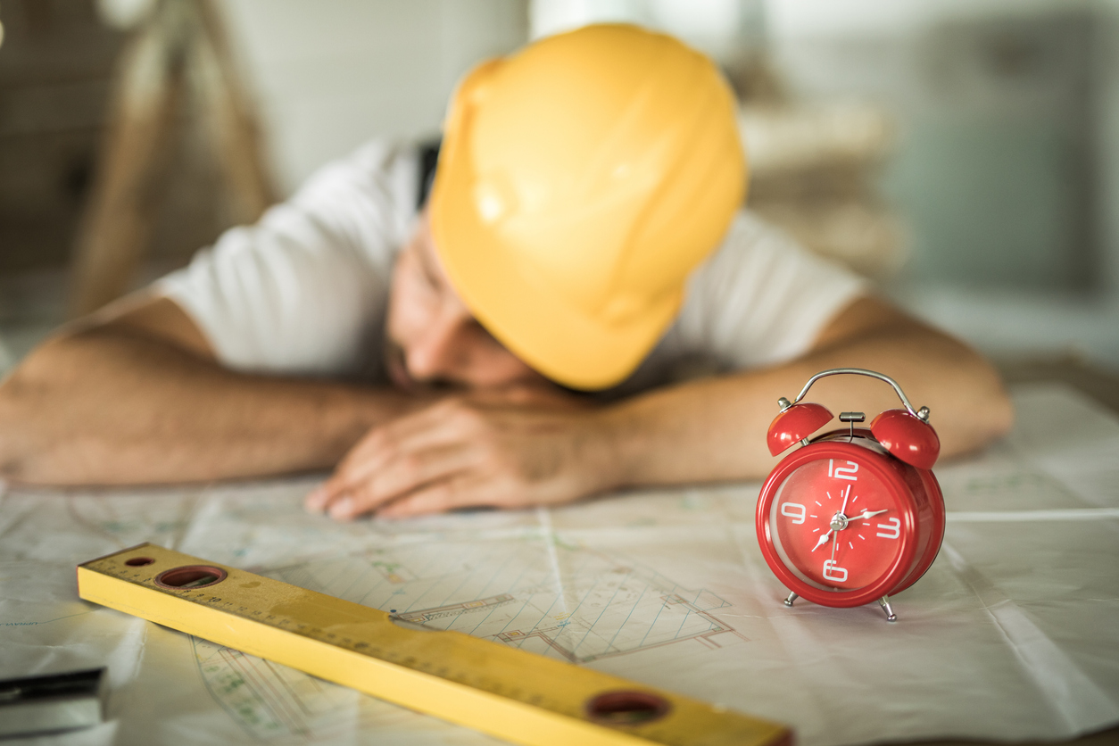 Survey Finds Most Workers Suffer from Fatigue
