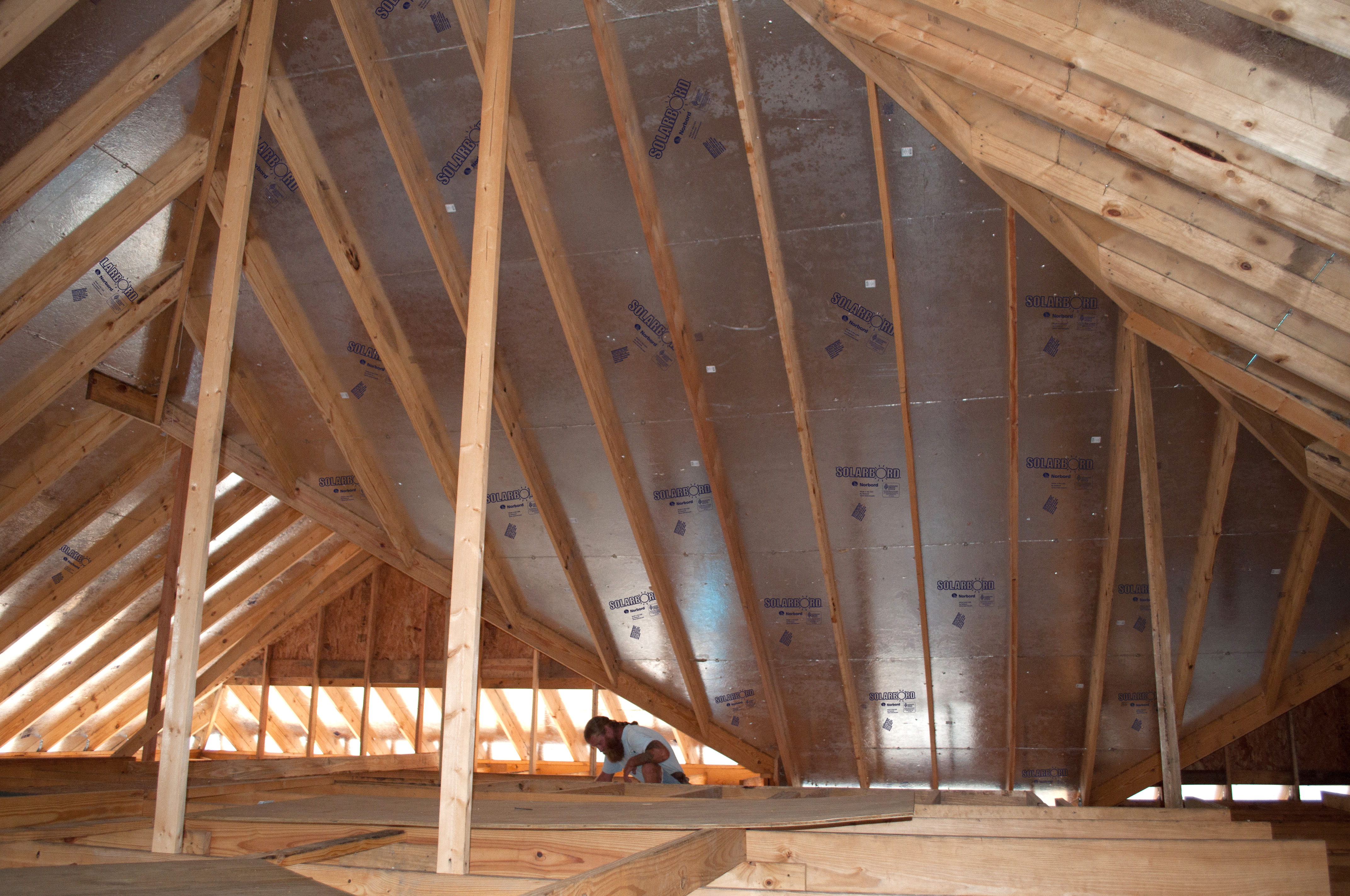 How to Reduce Attic Temperatures Using Radiant Barriers