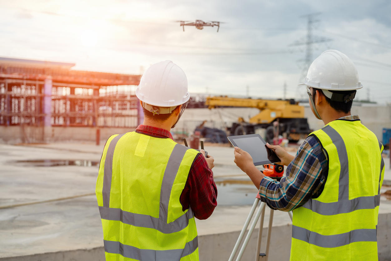 Drones in the Construction Industry are Here to Stay