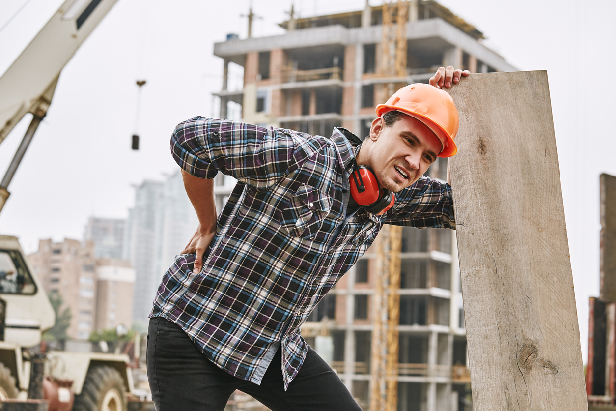 Preventing Backpain for Construction Workers